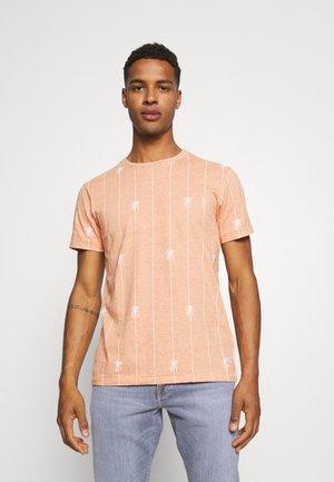 TEE - Print T-shirt - muskmelon