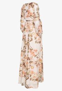 Hope & Ivy Maternity - MAXI CROCHET TRIM WRAP DRESS - Denní šaty - blush - 1