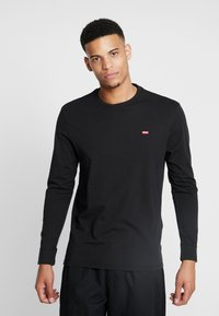 Levi's® - ORIGINAL TEE - Long sleeved top - black - 0