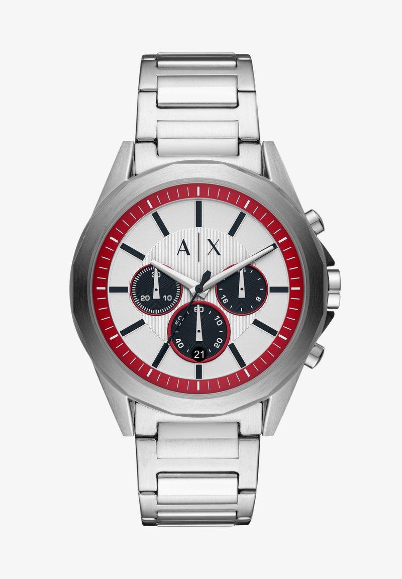 Armani Exchange - DREXLER - Chronograph watch - silver