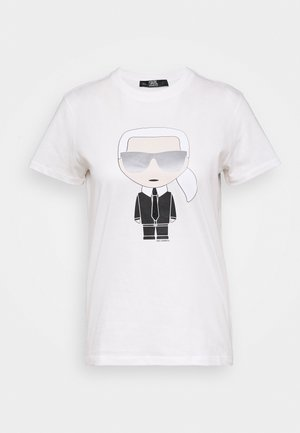 IKONIK - Camiseta estampada - white