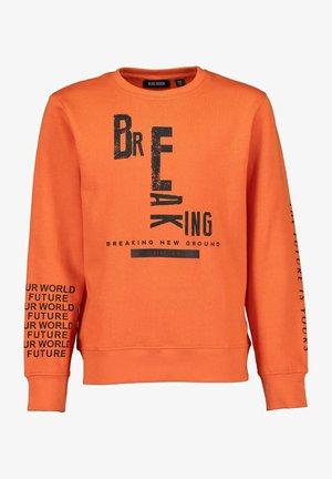 SCRIBBLED FUTURE - Sweater - orange