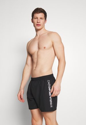 SEA WORLD LOGO BOXER - Swimming shorts - nero/silver