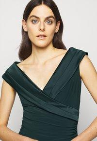 Lauren Ralph Lauren - MID WEIGHT LONG GOWN COMBO - Occasion wear - deep pine - 3
