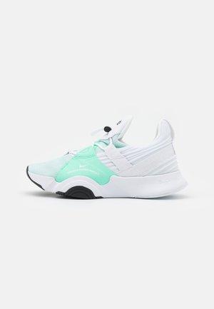 SUPERREP GROOVE - Sports shoes - white/green glow/black