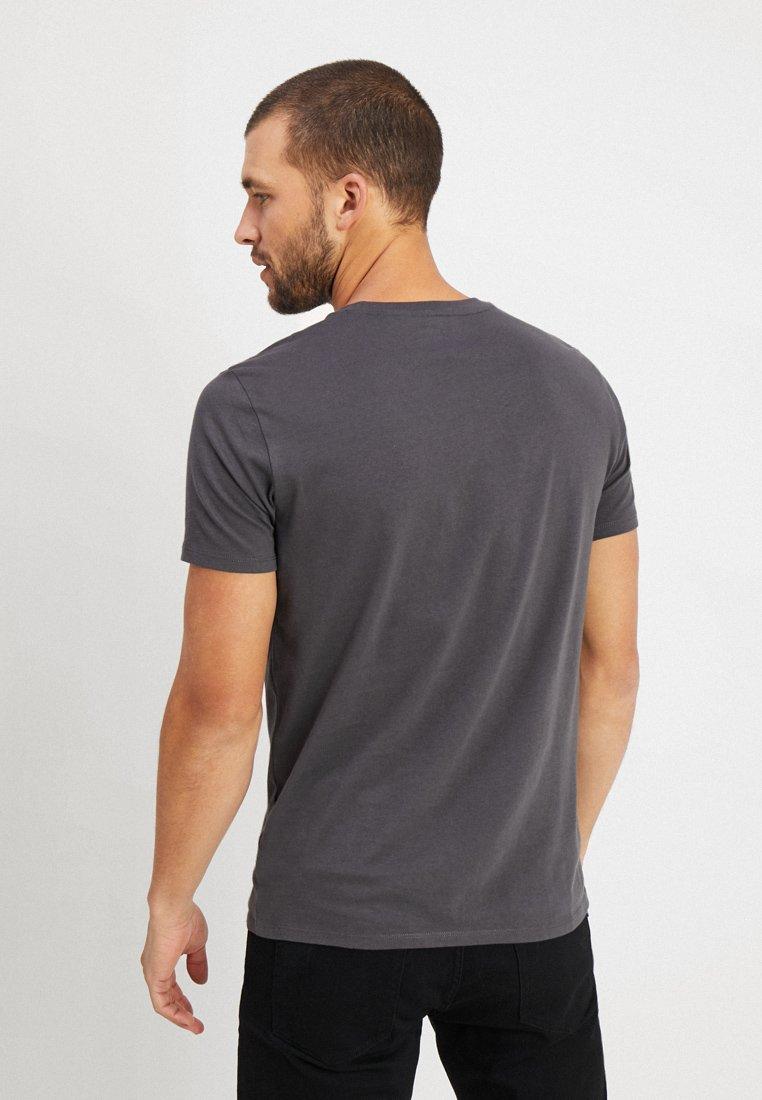 Marc O'Polo Print T-shirt - gray pinstripe CTuyj