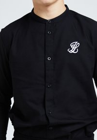 Illusive London Juniors - ILLUSIVE LONDON CORE GRANDAD - Shirt - black - 2