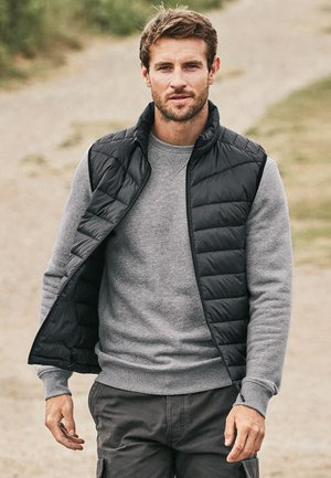 WITH DUPONT SORONA® INSULATION - Waistcoat - grey