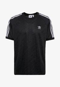adidas Originals - MONOGRAM RETRO JERSEY - T-shirt med print - black - 3