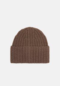 Filippa K - CORINNE HAT - Čepice - dark taupe - 1