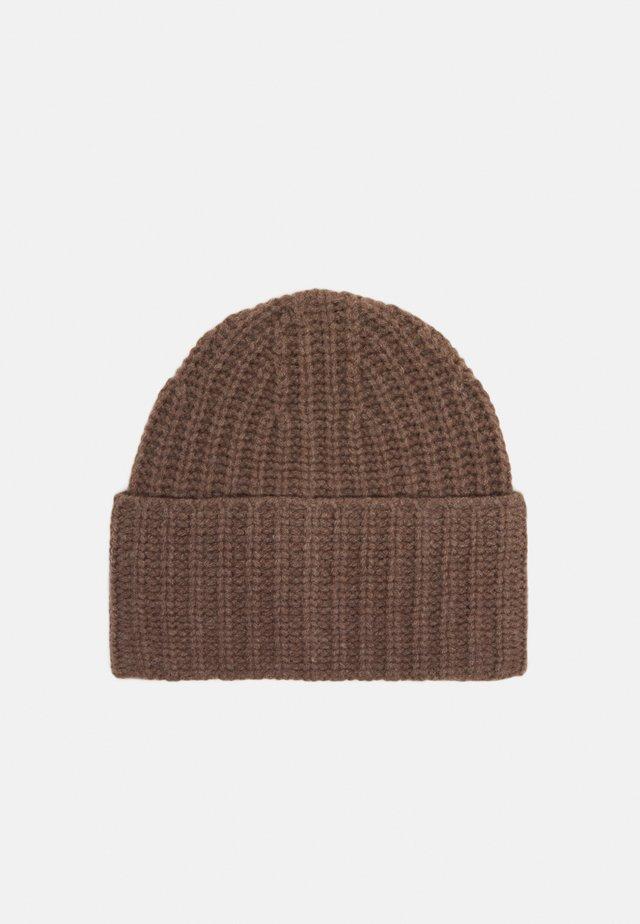 CORINNE HAT - Beanie - dark taupe