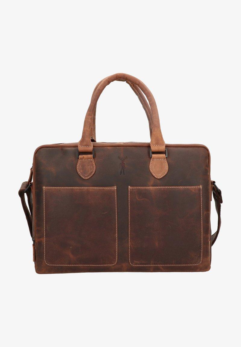 Jack Kinsky - BALTIMORE - Briefcase - cognac