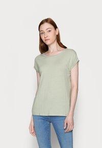Vero Moda Tall - VMAVA PLAIN 2 PACK - Basic T-shirt - desert sage/cornsilk - 3