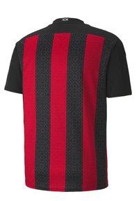 Puma - AC MILAN HOME REPLICA  - Club wear - tango red black - 2
