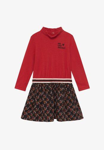 ROBE - Jersey dress - rouge
