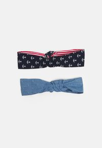 maximo - MINI HAARBAND 2 PACK - Hair styling accessory - denim - 1