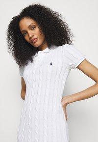 Polo Ralph Lauren - Jumper dress - white - 3