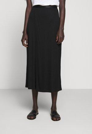 VIOLA SKIRT - Maxi skirt - black