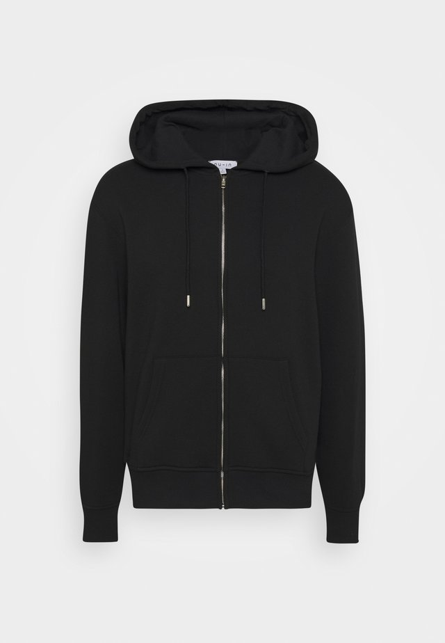 BASIC REGULAR FIT HOODIE - Huppari - black