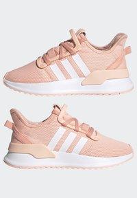 adidas Originals - U_PATH RUN SHOES - Trainers - glow pink/ftwr white/core black - 5