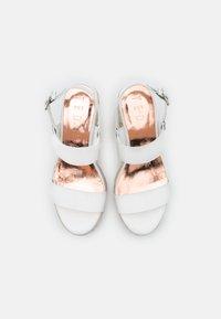Ted Baker - ARCHEI - Platform sandals - white - 5