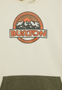Burton - OAK - Bluza z kapturem - cream heather - 2