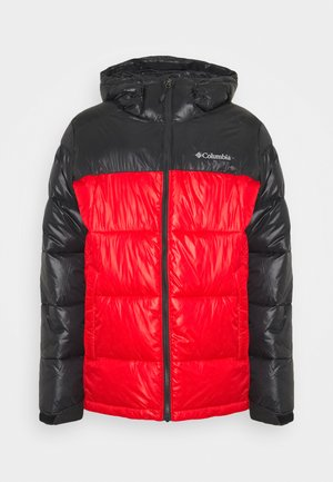PIKE LAKE HOODED JACKET - Winter jacket - mountain red shine/shark