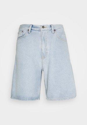 OMAR - Denim shorts - superlight blue