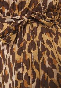 VILA PETITE - VIRENETA MIDI DRESS - Day dress - brown - 2