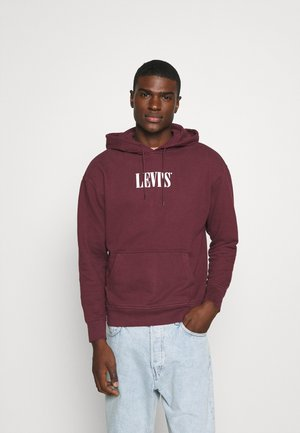 RELAXED GRAPHIC UNISEX - Hoodie - bordeaux