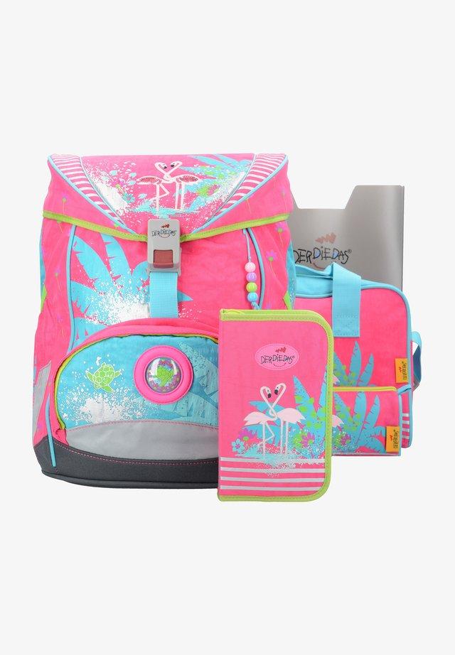 SET 5TLG - School set - flamingo