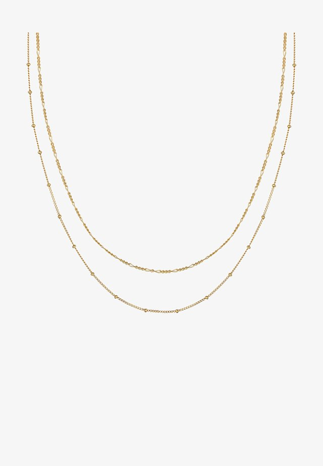 SET - Ketting - gold-coloured