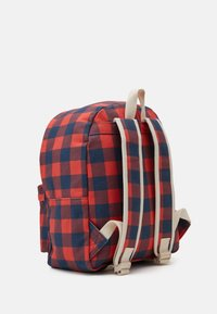 TINYCOTTONS - CHECK BIG BACKPACK - Mochila - navy/red - 1
