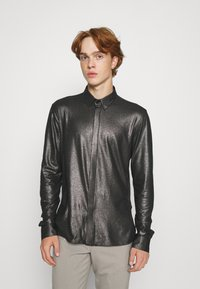 Twisted Tailor - SLEDGE SHIRT - Košile - black - 0