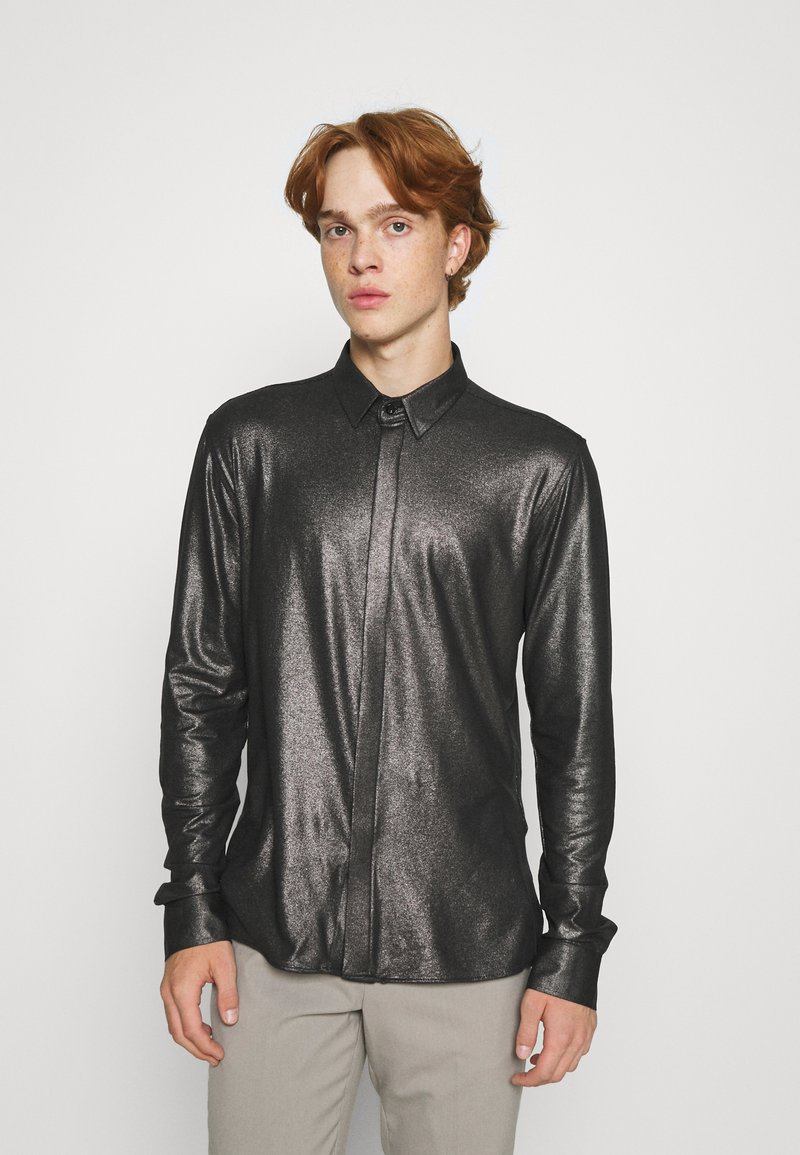Twisted Tailor - SLEDGE SHIRT - Košile - black