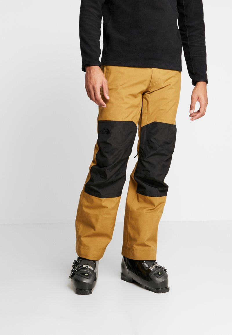 The North Face - UNI TRIED AND TRUE PANT - Schneehose - british khaki/black