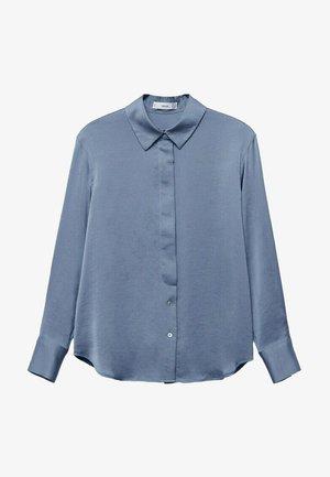 IDEALE - Button-down blouse - blue