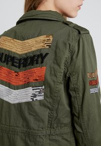 Superdry - GLITTER ROCK ROOKIE - Summer jacket - khaki - 5