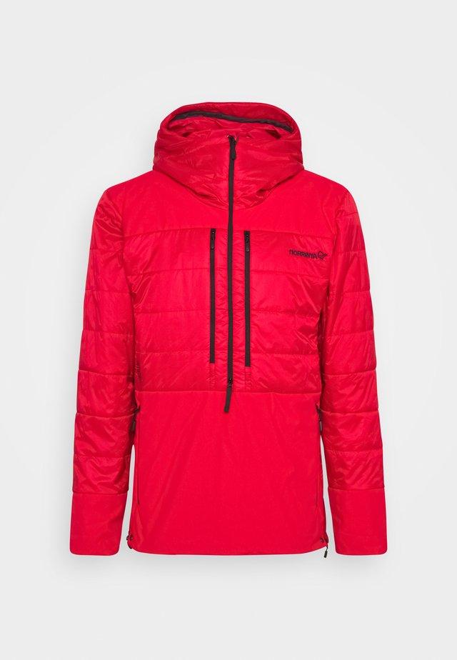 LOFOTEN PRIMALOFT80 ANORAK M'S - Winter jacket - red