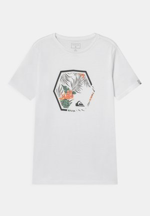 FADING OUT - T-shirt print - white