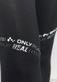 ONLY Play - ONPSUE LIFE - Medias - black/white/silver - 5
