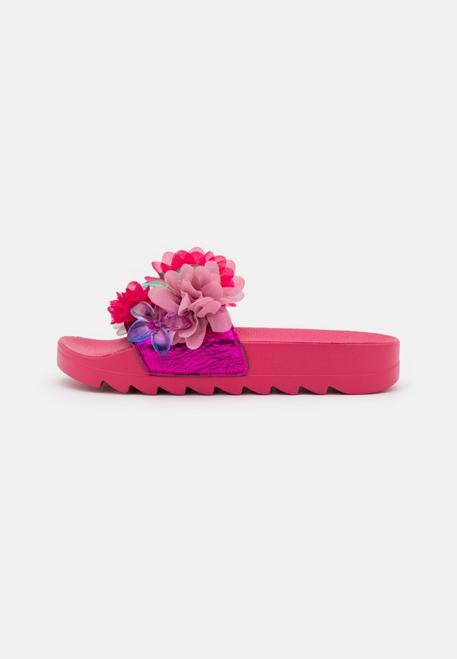 SLIDE FLOWER MIX - Muiltjes - fuchsia