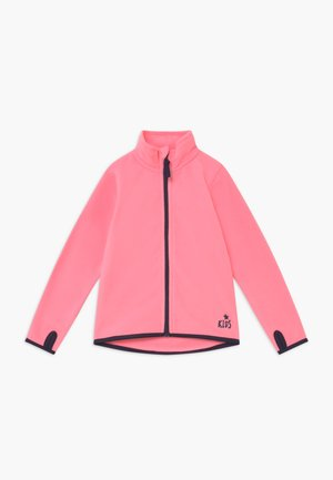 KIDS BASIC - Fleece jacket - lachs