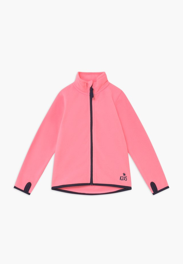 KIDS BASIC - Fleecejacke - lachs