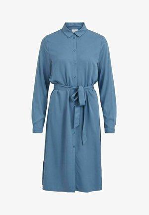 VIDANIA BELT DRESS - Shirt dress - captains blue
