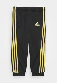adidas Performance - SHINY UNISEX - Tracksuit - black/gold - 2