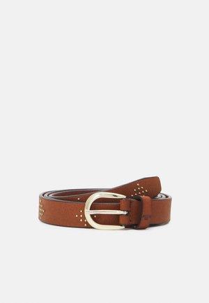 SIMON - Belt - light brown
