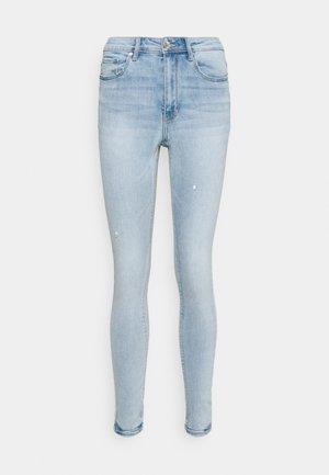 VMSOPHIA HIGH RISE - Jeans Skinny Fit - light blue denim
