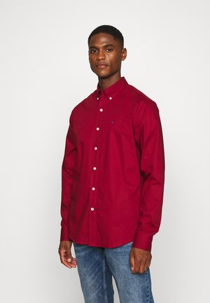 POPLIN SOLID - Formal shirt - merlot