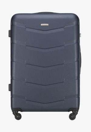 TRAVEL - Wheeled suitcase - navy blue
